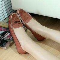 Sepatu Flat Flatshoes Laser Bata NFZ-55