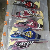 Sticker Motor Stripping Honda Beat 2010 Striping Motor