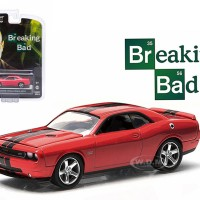 Diecast Miniatur GREENLIGHT 2012 DODGE CHALLENGER SRT8 BREAKING BAD