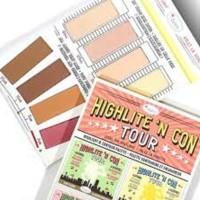 The Balm Highlite N Con Tour Highlight Contour Palette