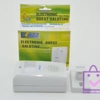 Bel Pintu Sensor Gerak Flazz / Electronic Guest Saluting Wireless
