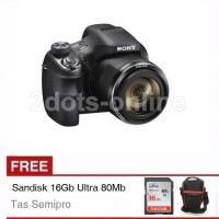 Sony Cybershot DSC H400 H 400 Semipro Free SD 8Gb & Tas Semipro