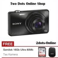 Sony Cybershot WX-220 WiFi DSC WX220 Free SD Card & Tas