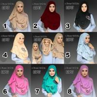 Pashmina Intsan J1313 I Jilbab I Hijab I Khimar I Jilbab Segi Empat Li