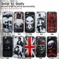 Iphone 5 / 5S Case Slim Matte Black Karakter Anime / Superhero