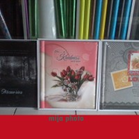 Album Foto Jumbo Murah Cantik Ukuran 10Rs isi 20 Lembar white Sheet