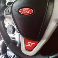 Sticker Steer Logo ST Ford Fiesta