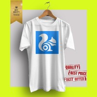 Baju kaos t-shirt distro hot promo branded UC BROWSER 01