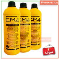 Jual Pupuk Organik Cair EM-4 Pertanian (Efektif Mikro Organisme) Murah