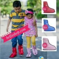 Jual Sepatu Hujan Mantel Sepatu Jas Hujan Sepatu Cosh Anti Air Anak Kids CK Murah