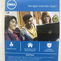 TERMURAH Dell Portable Backup Hard Drive 1TB - External HDD Dell -