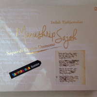 Manuskrip Sajak ( Limited Edition ) oleh Sapardi Djoko Damono