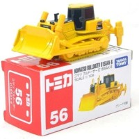 Tomica Komatsu Bulldozer D155AX-6 Yellow Kuning Takara Tomy no 56