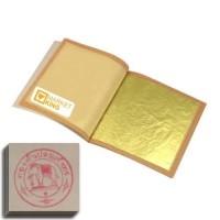 edible pure gold spa mask masker emas murni 24 karat leaf sheet 24k