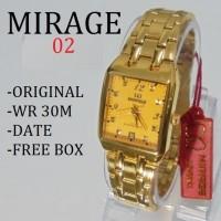 Jam Tangan Wanita Rolex 7716 Emas Mirage Ori