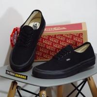 Sepatu Vans Authentic Classic Full Black DT Premium