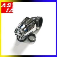 FILTER SEPEDA MOTOR MODIFIKASI ORIGINAL TOP BRAND SCARLET HJ 317 CROM