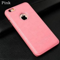 Casing HP  Leather Hardcase Iphone 5 5s se 6 6s 6 plus 7 7 plus Pink