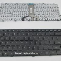 Keyboard Laptop Lenovo IdeaPad 100-14IBD Hitam