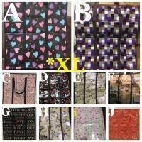 Jual Tas karung XL tali keliling tas belanja laundry pakaian shopping bag Murah