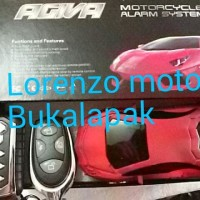 Alarm Motor AGIVA model mobil remote pengaman spesial edisi B09 9167
