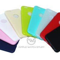 Jual Silicon / Silicone Ultra Thin Soft Case Spotlite iPhone 6 6s TPU Murah