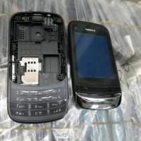 Casing Nokia C2-03 Slide Fullset Cesing Kesing Hp Nokia C203 Full Set