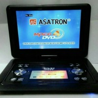 DVD PORTABLE ASATRON 12 INCH TV/FM RADIO/GAME PLAYER