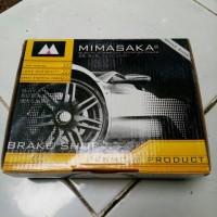 Brake Shoe/Kampas Rem Mimasaka Suzuki Forsa th lama, GL,GLX,Swift GS