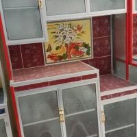 rak piring keramik 3 pintu