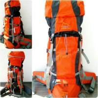 Tas Gunung murah Original DMM 60l Stepa Orange Ransel Camping Carrier