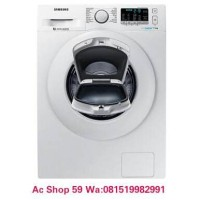 MESIN CUCI 7.5 KG SAMSUNG WW75K5210YW FRONT LOADING ECO BUBBLE NEW