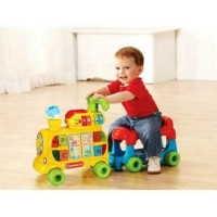 Vtech Sit to Stand Alphabet Train (sewa mainan/baby walker)