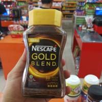 KOPI NESCAFE GOLD BLEND 100GR JAR KACA / 50 CANGKIR COFFEE