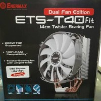 Enermax ETS T40 Fit Dual Fan 14CM CPU Cooler