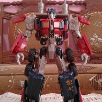 Action Figure Transformers Voyager Optimus Prime ROTF by Takara Tomy