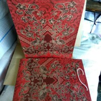 Jual Paper Bag Batik Besar / Tas Kertas Ukuran 26x34x9=besar/folio Murah