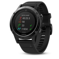 harga Garmin Fenix 5 Sapphire Black Gps Watch Sea Tokopedia.com