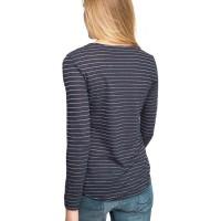 Branded Esprit Cotton/Linen Top With Lurex - Navy