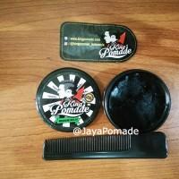 King Pomade Waterbased Medium Hold 1.4oz Free sisir & sticker