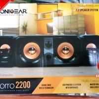 Jual SONIC GEAR Speaker Morro 2200 - 2.2 Speaker Black. Double BASS Murah