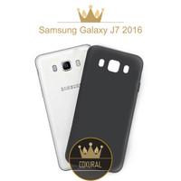 Samsung Galaxy J7 2016 J710   Case Slim Fit Matte Black Softcase