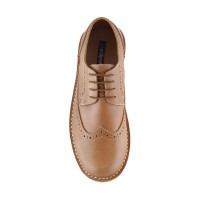 Pantofel Eclipse 7 Bradford Wingtip Leather Men Shoes - Brown