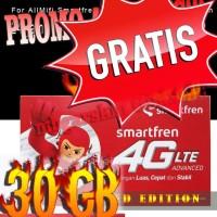 Jual Kartu Perdana Smartfren 4G 30 gb for all mifi m3z/m3y/m2s/m2p/m2y Murah