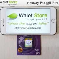 Suara Panggil Walet Birahi Memory Card