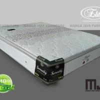 springbed kasur elite serenity pillowtop 180 x 200
