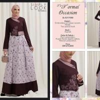 harga Gamis / Maxi Dress Simply Look Tuneeca Sl-0317008 - Premium Branded Tokopedia.com