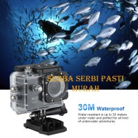 Kogan Action Camera / Sport SJCAM Camera HD-DV 12MP 1080p Waterproof