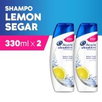 Head & Shoulders Sampo Lemon Fresh 330ml Paket Isi 2