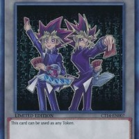Yugioh Yami Yugi Token CT14-EN007 Ultra Rare Limited Edition